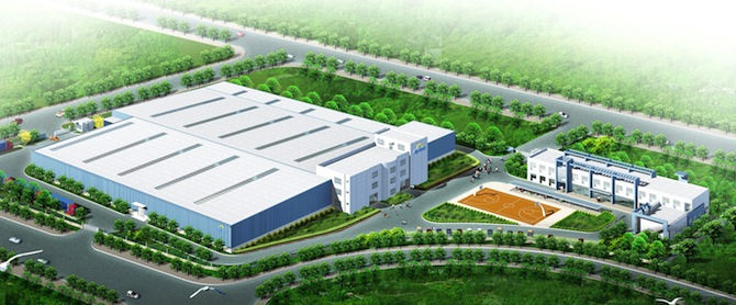 Apricus announces manufacturing plant expansion.