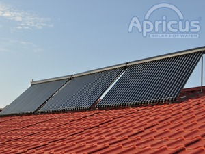 Apricus solar hot water project in Moldova