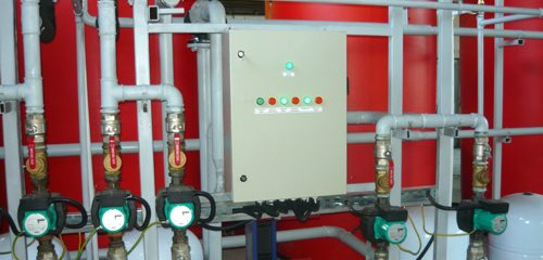 Apricus solar thermal hot water system control