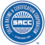 SRCC solar collector certification
