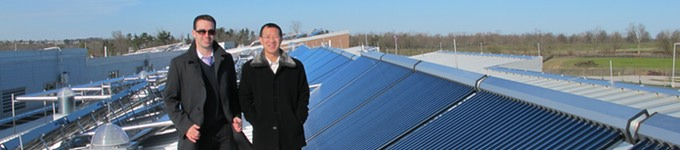 Apricus supporting solar water heating industry professionals
