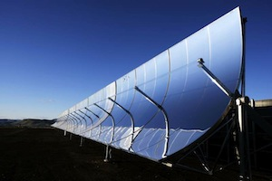 concentrating solar thermal collector