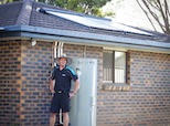 Apricus solar hot water system professional installer